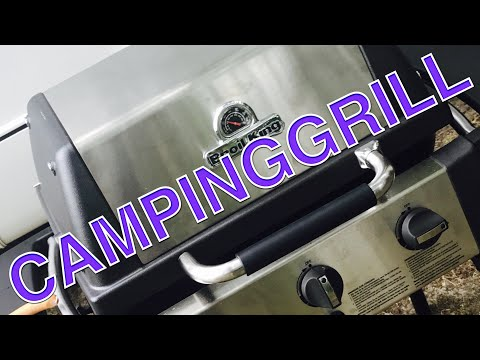 Broil King Monarch 320 Flammenbild in Ordnung?? - YouTube