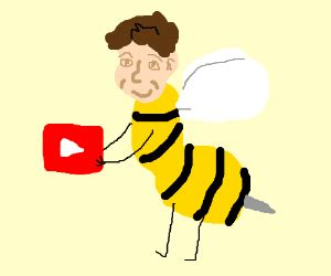 That bloody awful Bee Movie Youtube meme! - Drawception