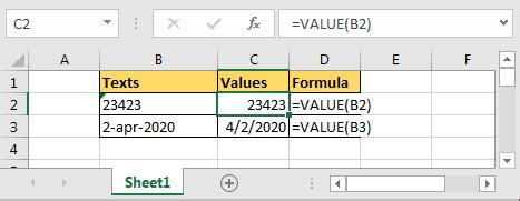 Convert Text To Number Excel