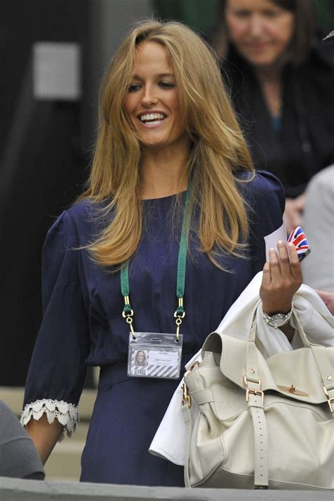 Kim Sears and Jelena Ristic Pictures: Andy Murray and