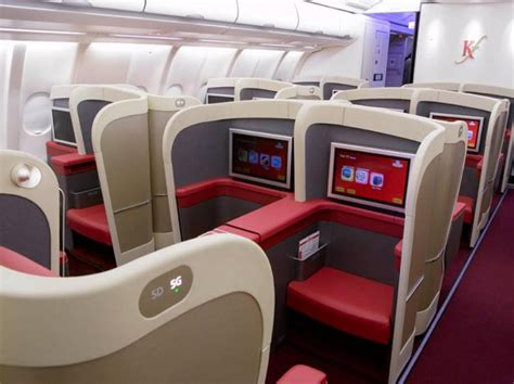 Kingfisher Airlines Business Class Seat Photographs | SKYTRAX