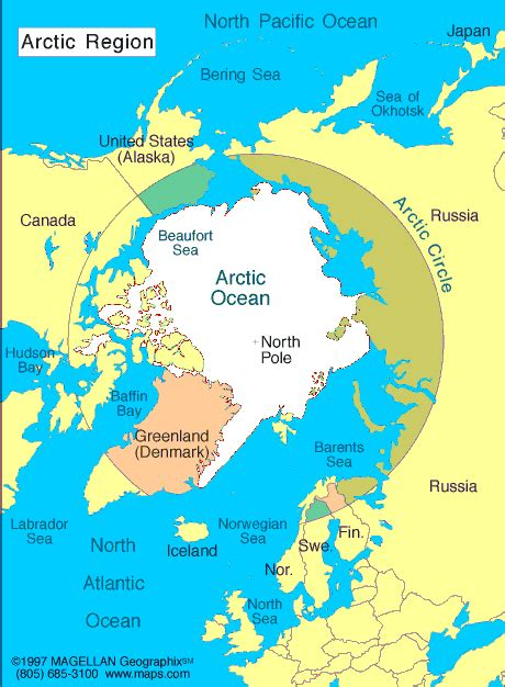 The Arctic Atlas: Maps and Online Resources