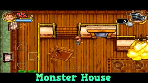 Monster House Android Gameplay GBA Games Emulator ( My Boy