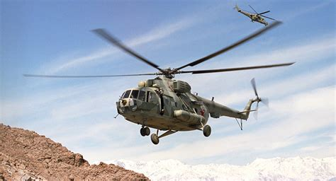 No Alternative to Russian Helicopters in Afghanistan