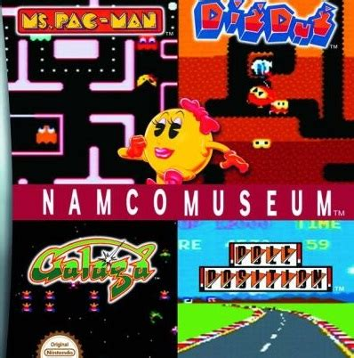 Play Namco Museum on GBA - Emulator Online