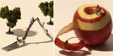 Japanese Artist Creates One Playful Diorama Each Day For 4