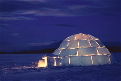 The Inuit And The Building Of An Igloo - InfoBarrel