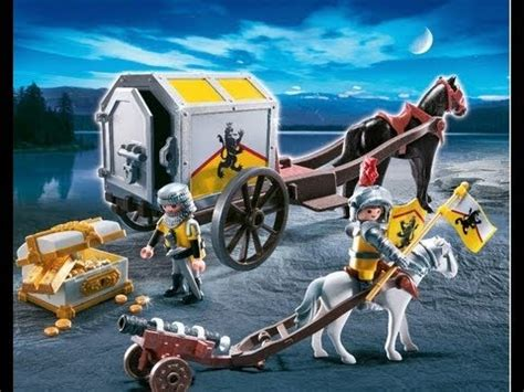 PLAYMOBIL CABALLEROS CHEVALIER Knights - YouTube