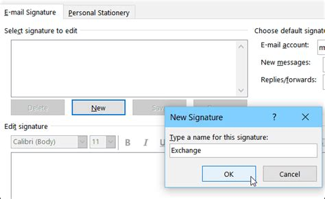 Outlook 2016: How To Create and Use a Signature