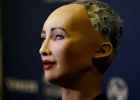 Humanoid robot Sophia wants to start a family because it's