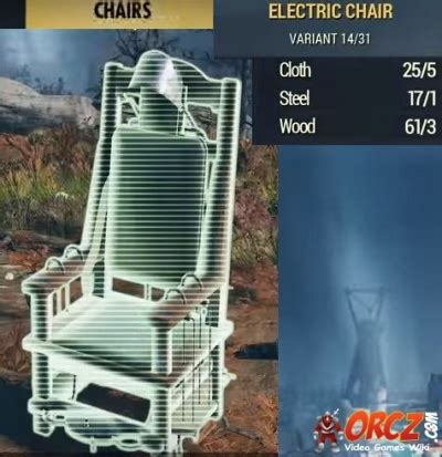 Fallout 76: Electric Chair - Orcz