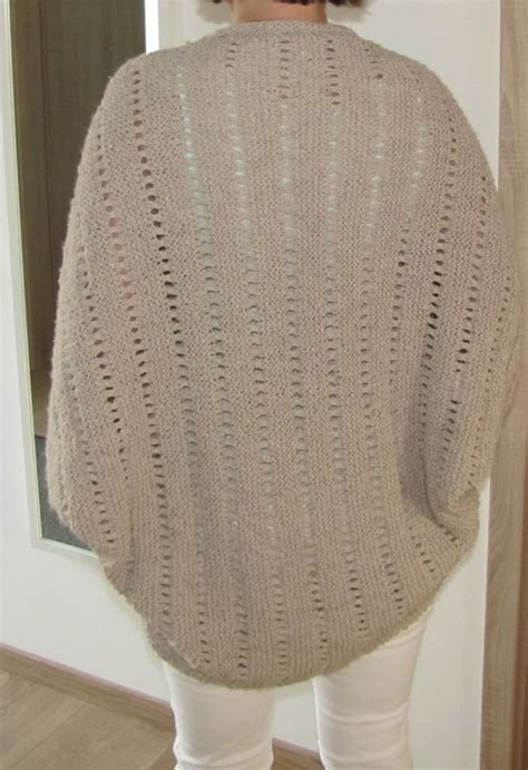 Knitting a cardigan: easy + for beginners