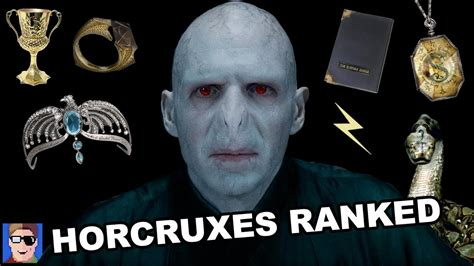 Voldemort's Horcruxes Ranked - YouTube