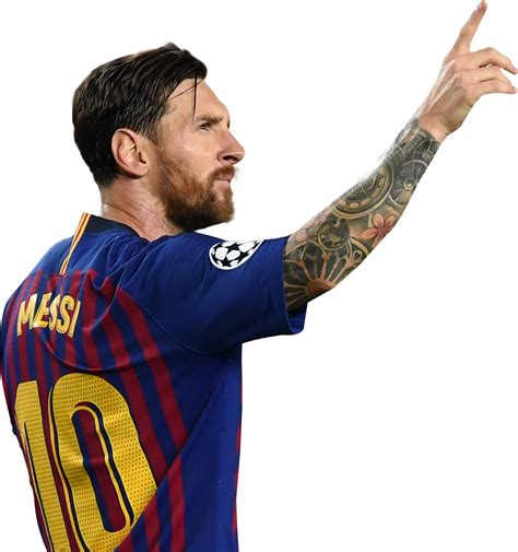 Lionel Messi football render - 49193 - FootyRenders