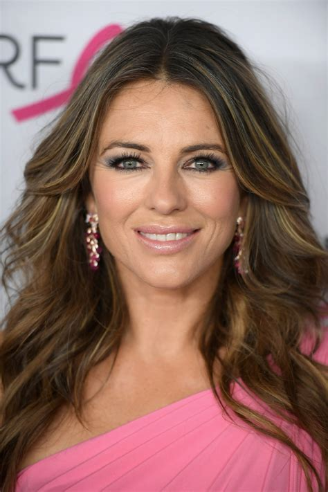 Elizabeth Hurley's bombshell red bikini threatens to break