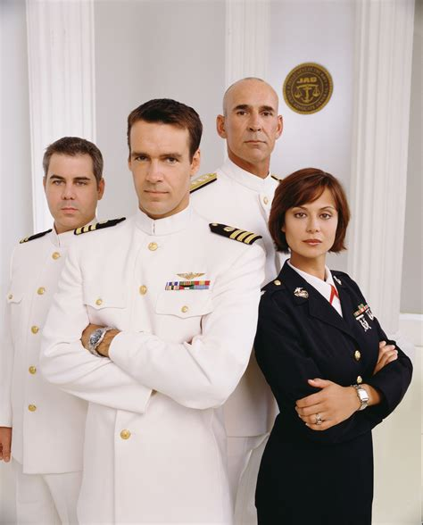 Catherine Bell as Sarah 'Mac' MacKenzie: JAG Stills