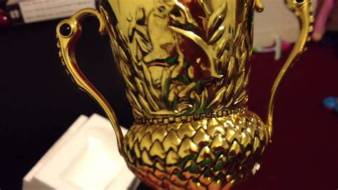 Harry Potter Hufflepuff Cup Unboxing - Noble Collection