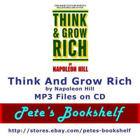 Think and Grow Rich CD | eBay