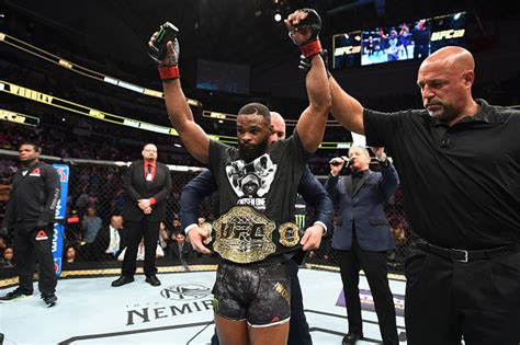 UFC Welterweight Champion Tyron Woodley Earns Sports' Most
