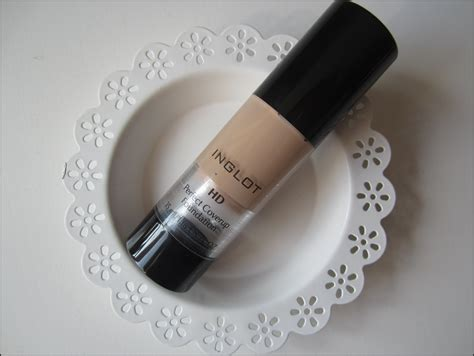 Jenna Jones : Inglot HD Perfect Coverup Foundation