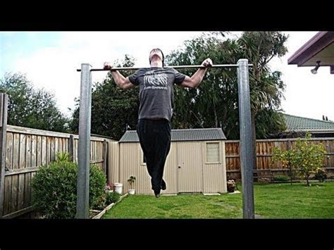 How To Build Pull Up Bar - YouTube