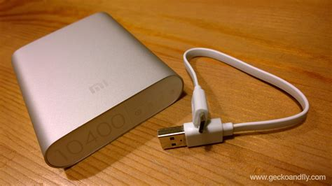 XiaoMi 10400 mAh Portable Power Bank Charger Review