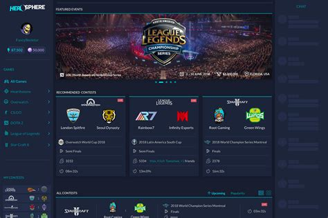 eSports Prediction Platform to Secure Betting with