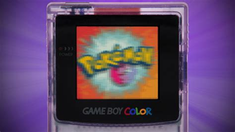 Pokémon TV Opening on a Gameboy Color - YouTube