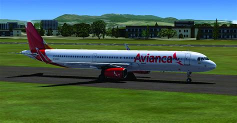 Avianca Airbus A321 for FSX
