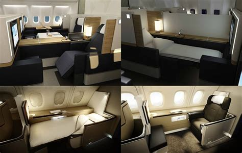10 best first class cabins to fly in : Luxurylaunches