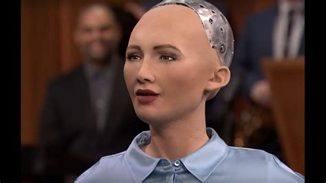 Sophia, the world's first robot citizen, wants a baby