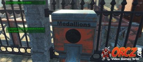 Fallout 4: Collect a Park Medallion from the Ferris Wheel