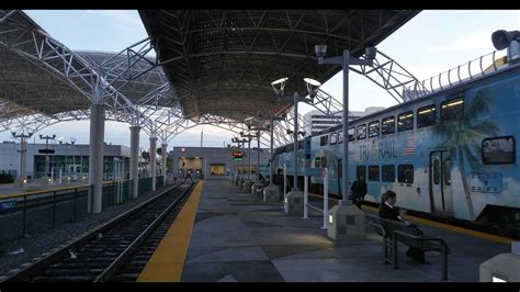 On board video of Tri-Rail from Fort Lauderdale to Miami