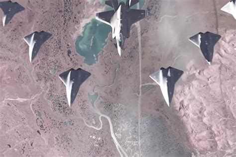 Air Force Will Pit a Drone Against a Fighter Jet in Aerial