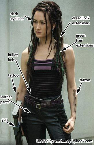 Dress up as Dauntless Tori from the Divergent Movie