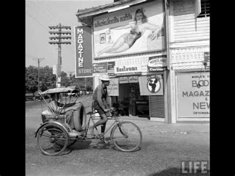 Life Magazine Photos of Thailand in the 1950's - Songs by