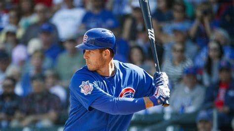 After a slow start to 2018, Anthony Rizzo vows to stay