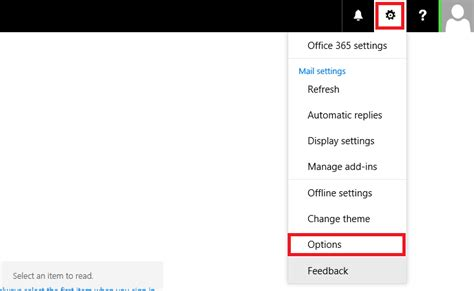 How to add or change an email signature in Office 365 OWA