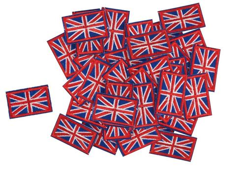 VBS Großhandelspackung Patchies »Fahne Union Jack