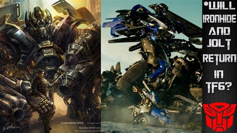 Will Ironhide and Jolt Return In Transformers 6? - YouTube
