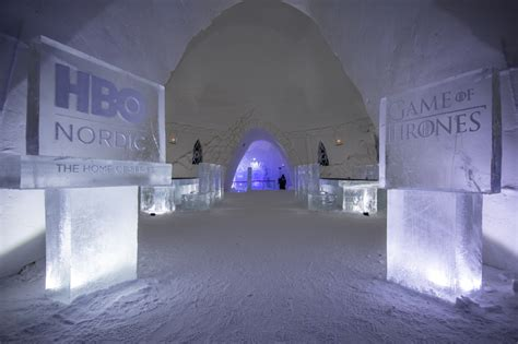Lapland Hotels SnowVillage - Ice Hotel with Game of