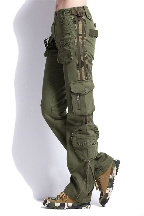 Large Size Cargo Pants Women Military Clothing Tactical