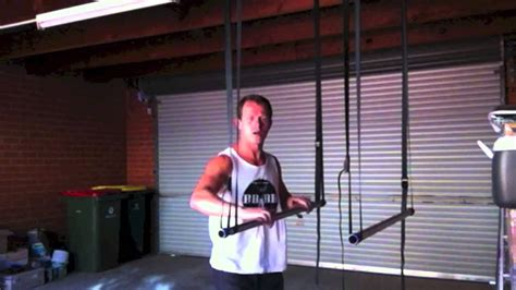 Home Made Pull/Chin Up & Dip Bars - YouTube