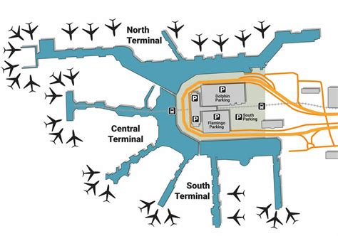 MIA airport pick up and drop off