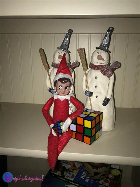 100+ Elf on the Shelf Ideas - Enza's Bargains
