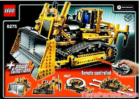 LEGO 8274 Combine Harvester Set Parts Inventory and