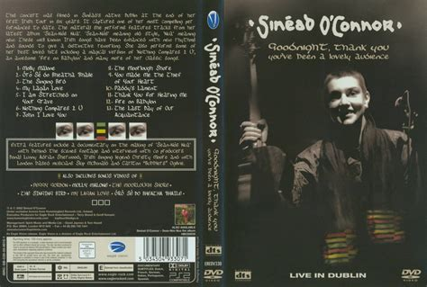 Jeronimo's Sinéad O'Connor DVD Page