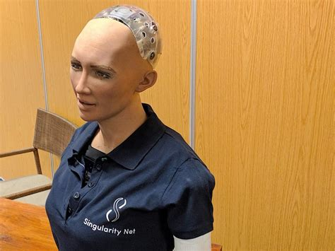 I interviewed Sophia, the artificially intelligent robot