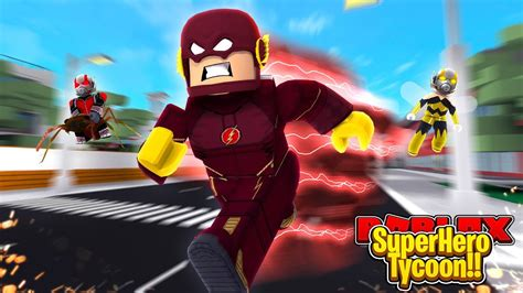ROBLOX - THE FLASH IS IN THE NEW ANT-MAN MOVIE?!!! - YouTube