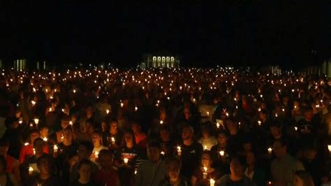 Candlelight vigil marches through Charlottesville Video